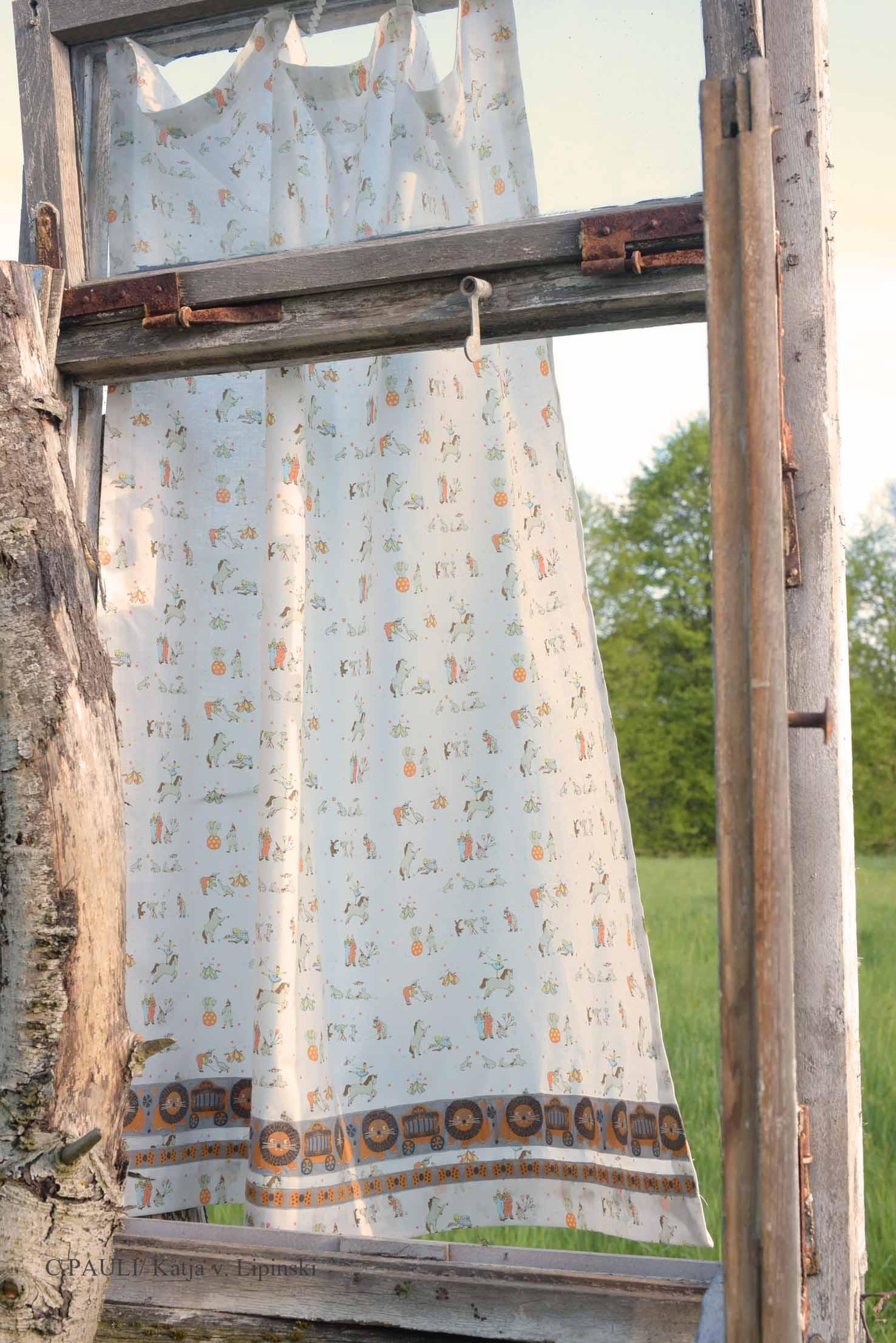 Nähblog: Wir nähen einen Vorhang für´s Kinderzimmer   C.Pauli Nature ...