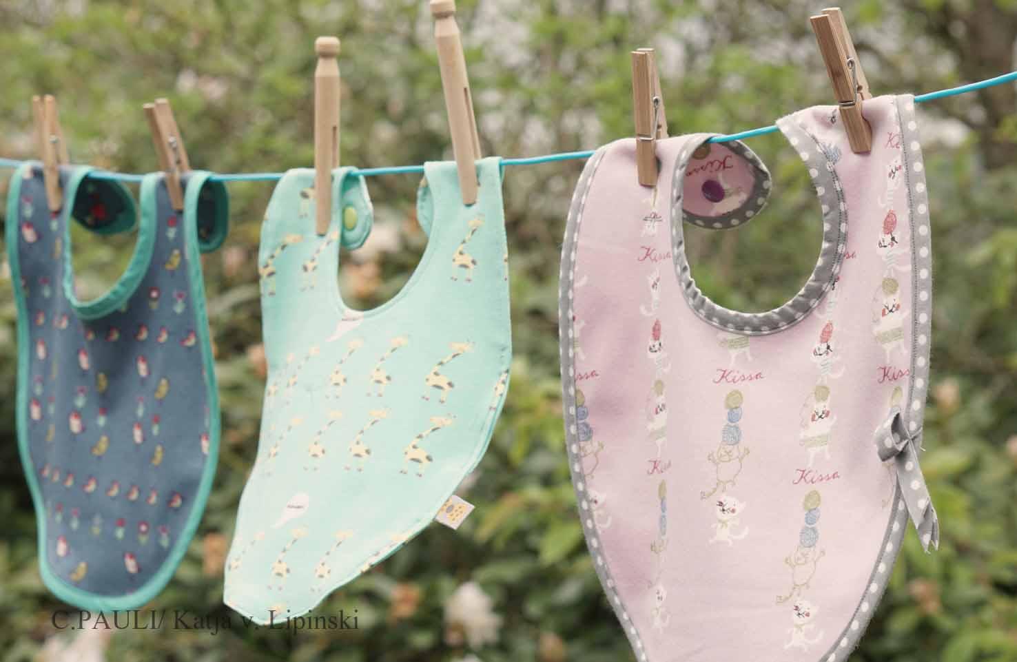 Babylätzchen selber nähen | C.Pauli Nature Blog