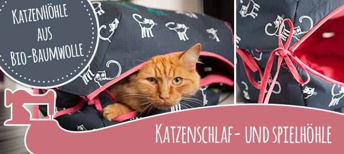 Katzenhöhle für ihren Stubentiger | C.Pauli Nature Blog