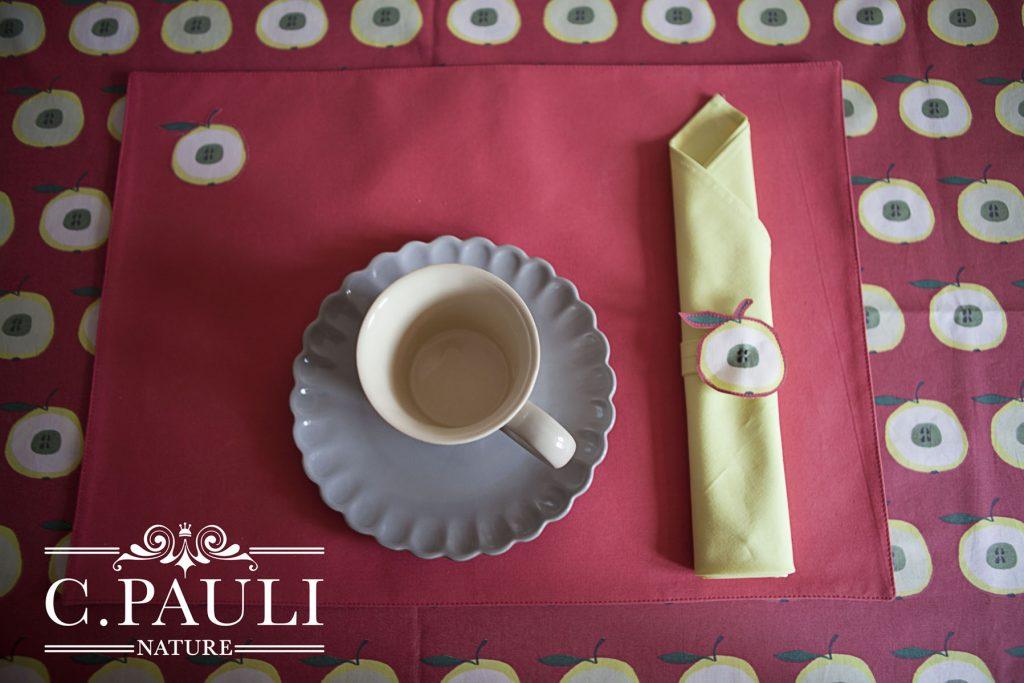 herbstlich gedeckter tisch tischdecke tischsets und servietten ringe c pauli nature blog. Black Bedroom Furniture Sets. Home Design Ideas