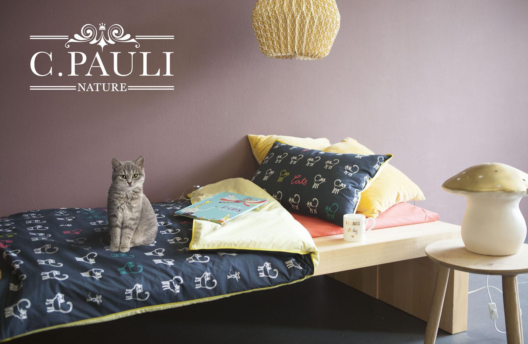 Kinderbettwäsche Cats Selber Nähen Mit Tutorial Cpauli Nature Blog