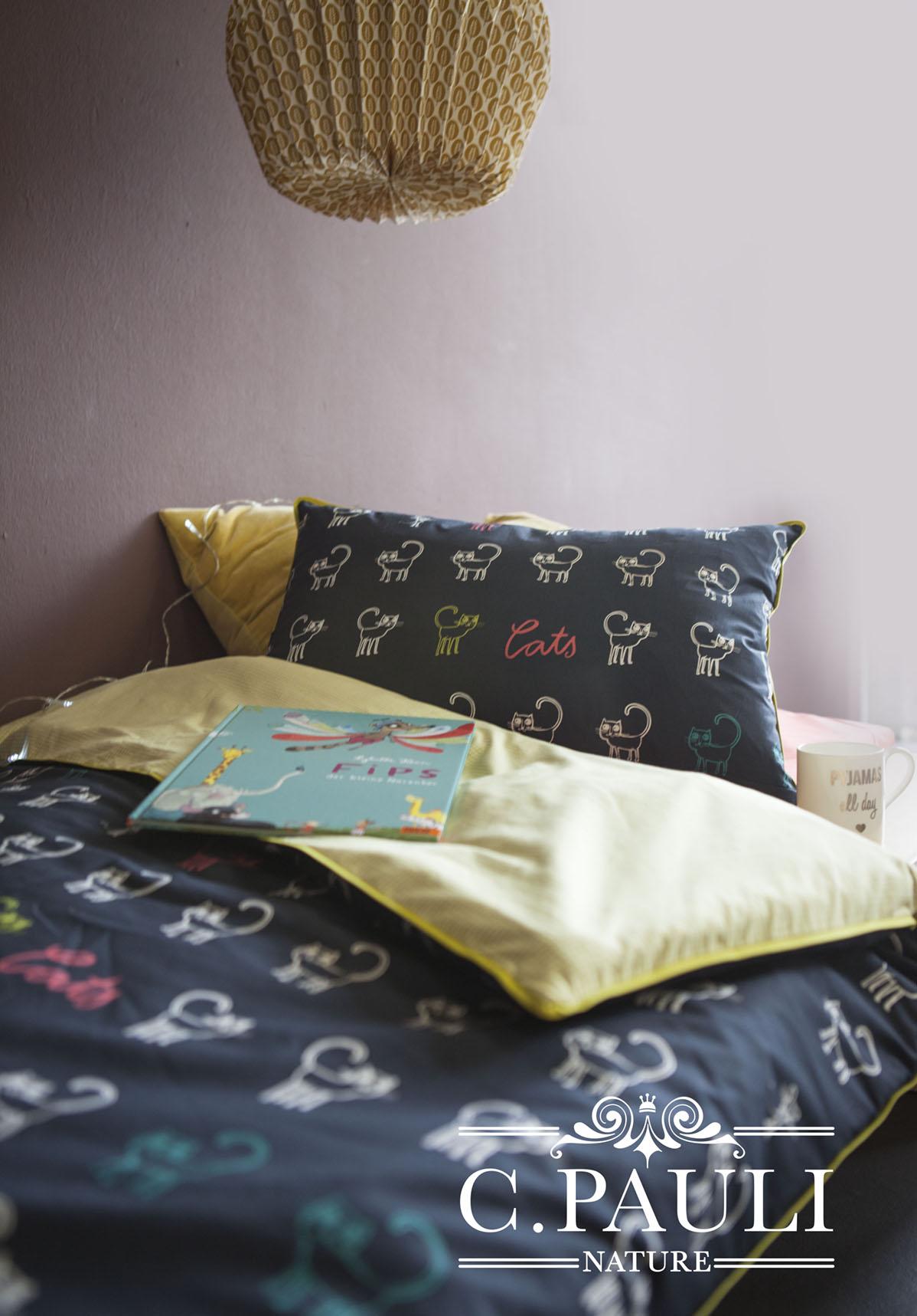 Bettwsche Mit Katzenmotiv. Great Bett Bezug Mit Kissenbezug ...