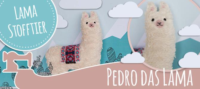 Lama Pedro – DIY Stofftier aus Plüsch