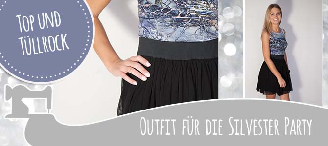 DIY Silvester Outfit – die Party kann kommen!