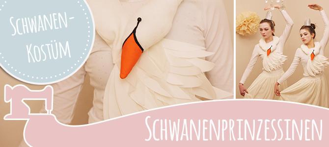 DIY Karnevalskostüm – die Schwanenprinzessin  ♥