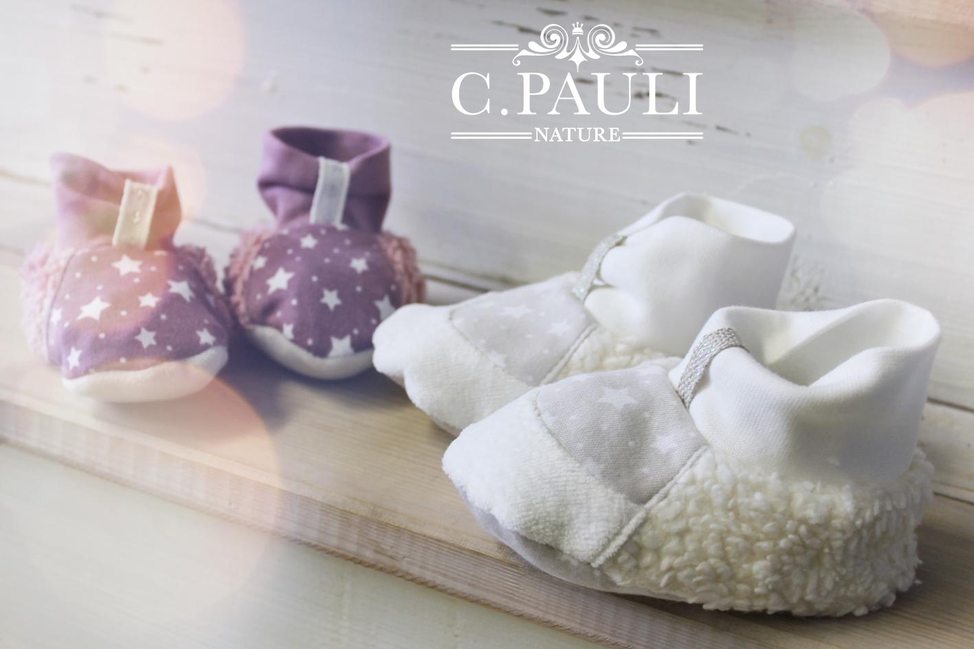 buy online 3e411 84caf Klein, süß und ganz viel Plüsch – Babyschuhe ♥ | C.Pauli ...