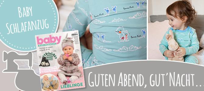 Baby Schlafanzug – Bonne Nuit 💤