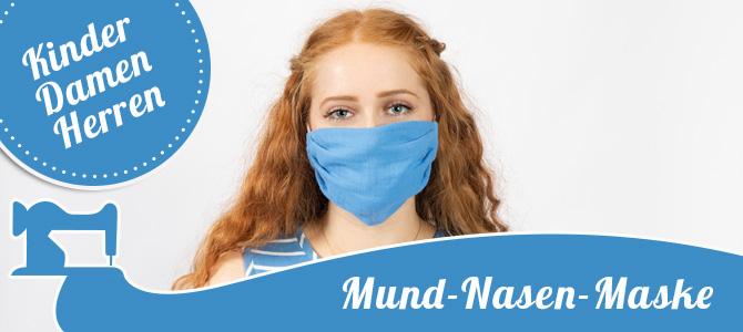 Mund-Nasen-Maske für die ganze Familie