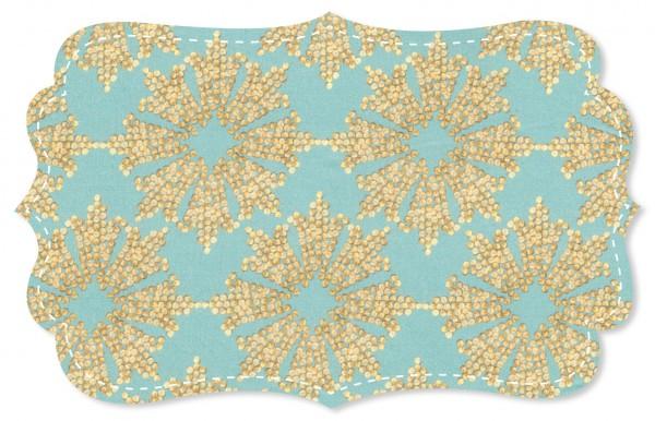 Cotton Lawn Stoff - Seda turquoise