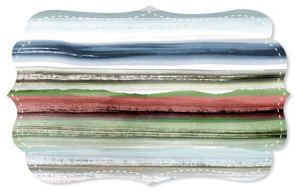 Soft Popeline Stoff - Green Horizon