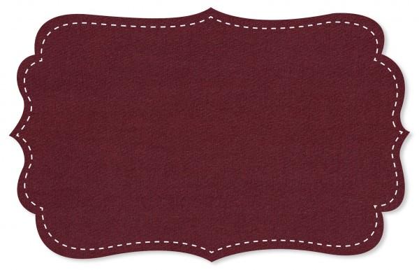 Single Jersey Stoff - uni - zinfandel