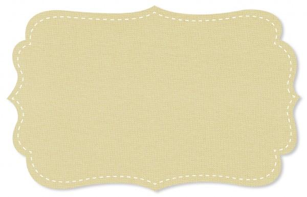 Bündchenware Rib 1x1 Stoff - uni - natur