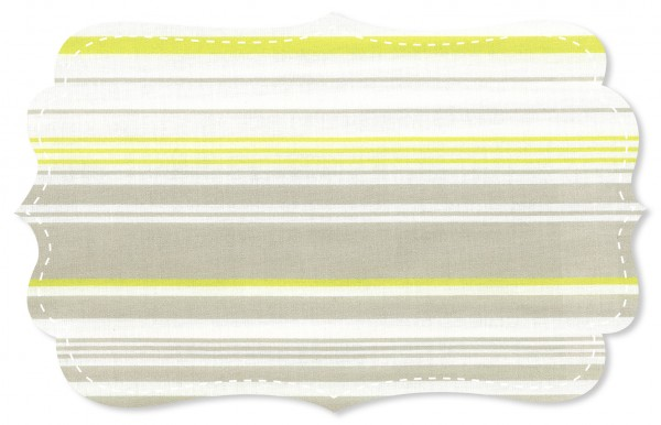 Popeline fein Stoff - New York stripes klein