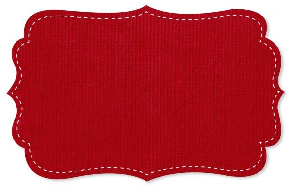 Cord - uni - tango red