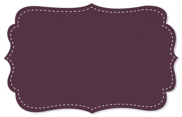 Bündchenware Rib 1x1 Stoff - uni - purple passion