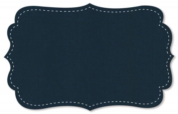 Lyocell - uni - navy blazer