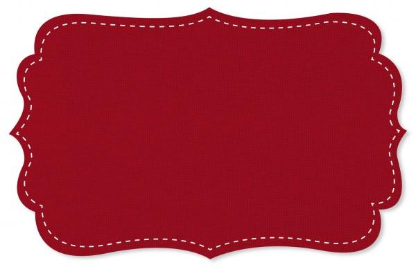 Bündchenware Rib 1x1 Stoff - uni - tango red