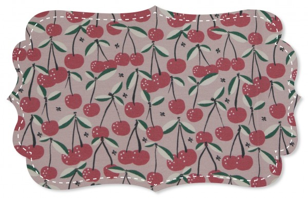 Single Jersey Stoff - Cherry