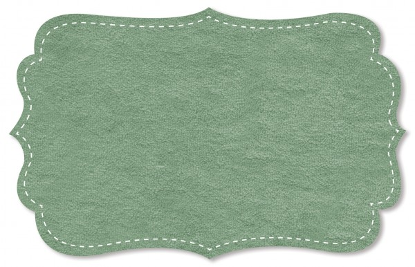 Strickfrottee Stoff - uni - green bay