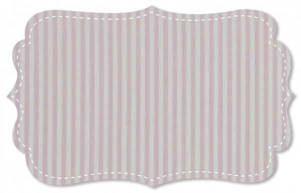 Popeline fein Stoff - feine Webstreifen - lavender frost/weiß