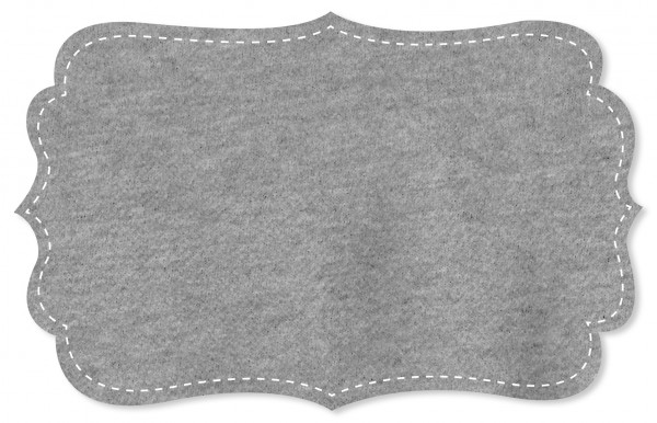 Sweat Stoff - meliert - grey melange