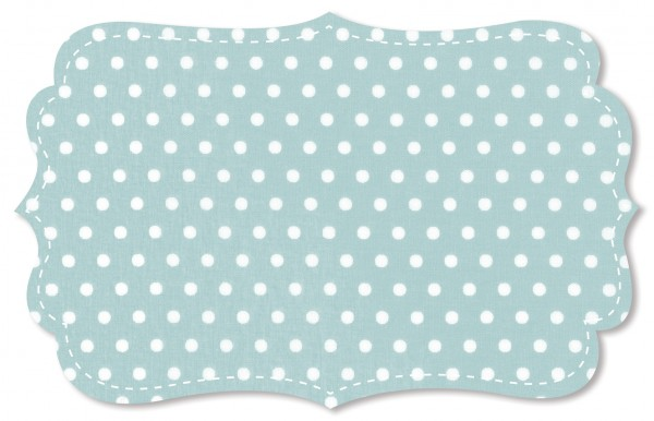 Popeline fein Stoff - kleine Punkte - cloud blue/weiß