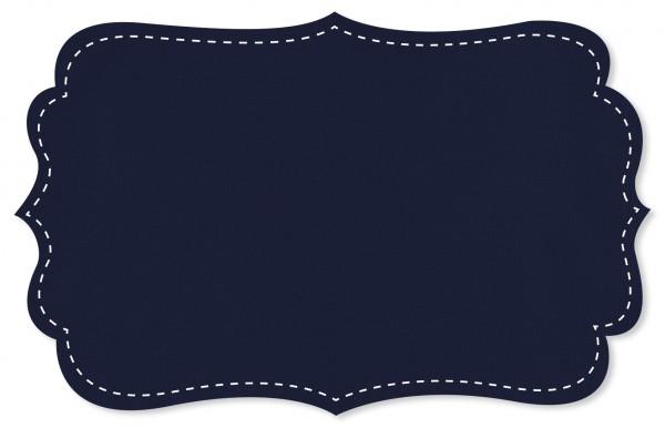 Popeline fein Stoff - uni - blue print