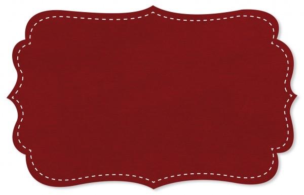 Nicky Stoff - uni - red dahlia