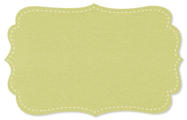 Bündchenware Rib 1x1 Stoff - uni - mellow green