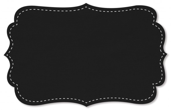 Gabardine Stoff - uni - black