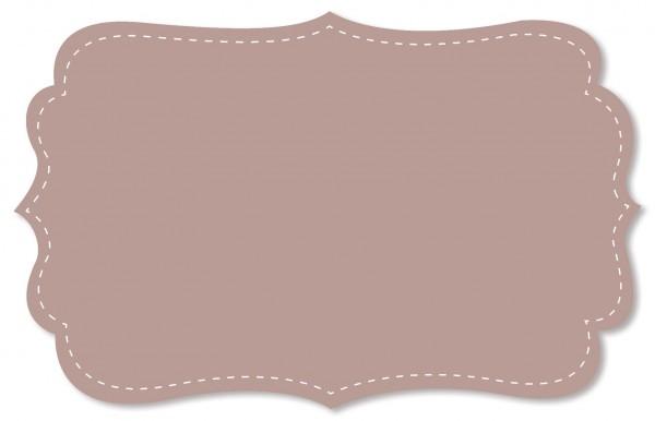 Voile Stoff - uni - adobe rose