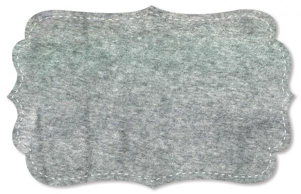 Nicky Stoff - uni - grey melange