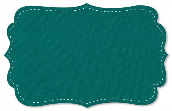 Bündchenware Rib 1x1 Stoff - uni - tidepool
