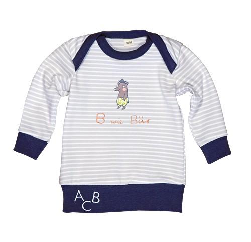 Langarm-Shirt B wie Bär