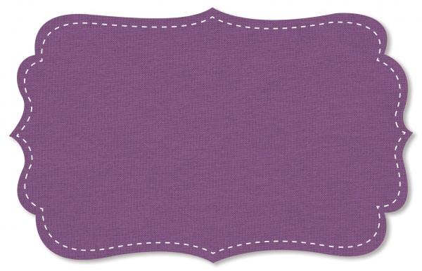 Interlock Stoff - uni - dusty lavender