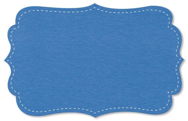 Bündchenware Rib 1x1 Stoff - uni - blue bonnet