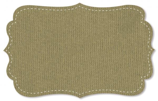Sweat Stoff - uni - slate green