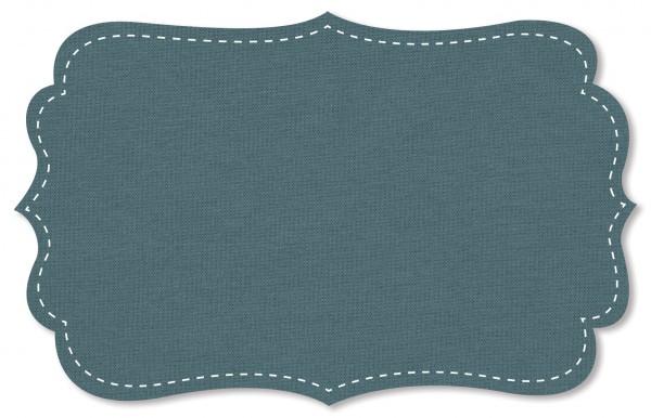 Interlock Stoff - uni - smoke blue