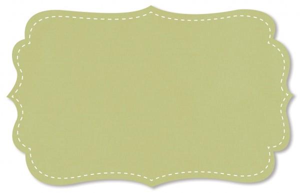 Popeline fein Stoff - uni - mellow green
