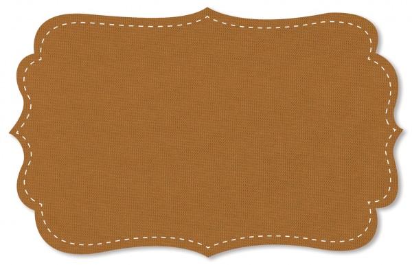 Bündchenware Rib 1x1 Stoff - uni - sudan brown