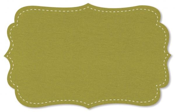 Bündchenware Rib 1x1 Stoff - uni - moss