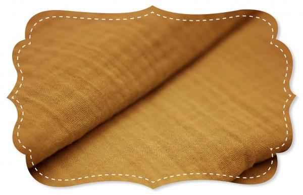Musselin - uni - sudan brown