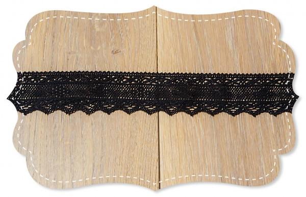 Spitze Valeria black