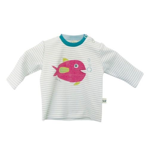 Langarm-Shirt Fisch