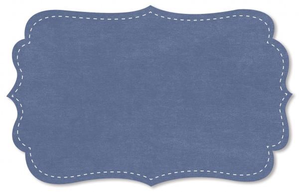 Nicky Stoff - uni - blue bonnet