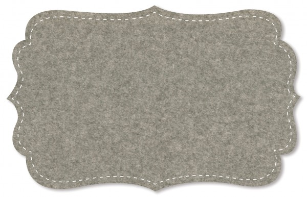 Baumwoll-Fleece - uni - grey melange