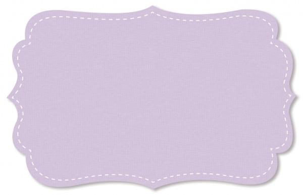 Interlock Stoff - uni - lavender frost