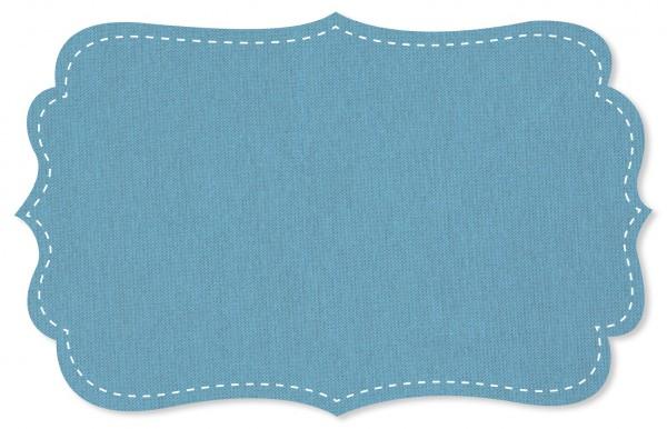 Interlock Stoff - uni - adriatic blue