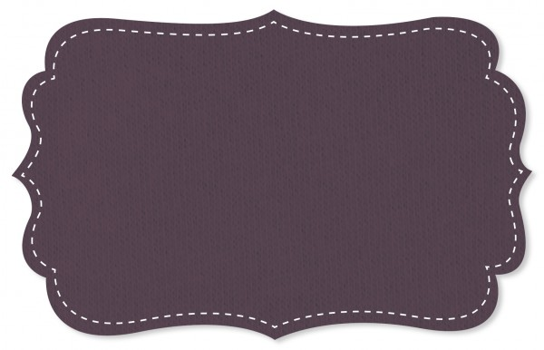 Sweat Stoff - uni - black plum