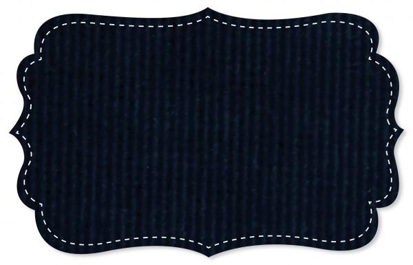 Cord - uni - navy blazer